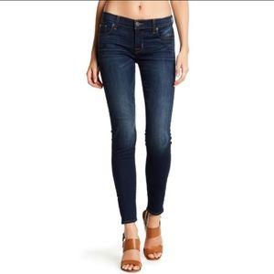 Hudson Krista Super Skinny Low Rise Jeans 27